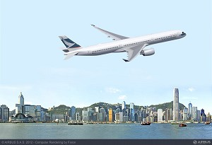 Cathay Pacific selects A350-1000