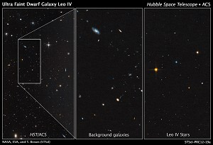 Hubble Unmasks Ghost Galaxies