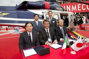All Nippon Helicopter Orders a Third AW139
