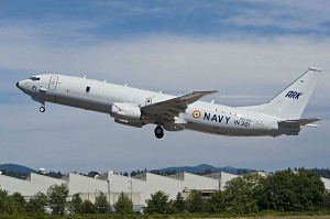 2nd Boeing P-8I Aircraft for India Completes 1st Flight