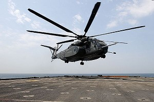 MH-53 Helicopter Suffers Aviation Mishap, Crashes
