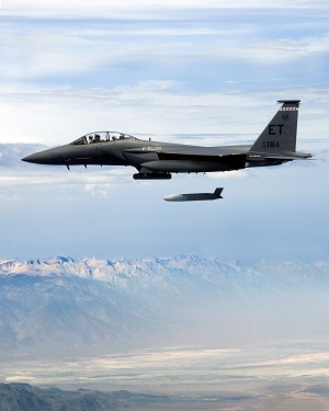 Lockheed Martin Completes JASSM F-15E Integration with Successful All-Up Round Flight Test