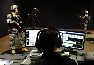 Virtual reality used to train Soldiers in new training simulator