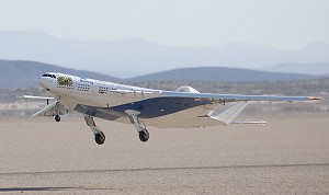 Boeing Flies X-48C Blended Wing Body Research Aircraft