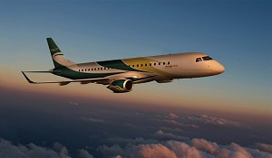 Lineage 1000 Executive Jet Debuts at LABACE 2012