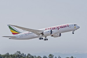 Boeing Celebrates Delivery of Ethiopian Airlines' First 787