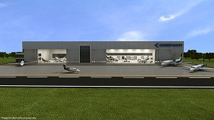 Embraer Breaks Ground for New Executive Jet Service Center in Brazil