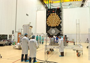 Satellite preparations move into full swing for next Arianespace Soyuz mission