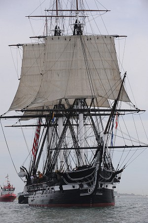 USS Constitution Sails for First Time since 1997