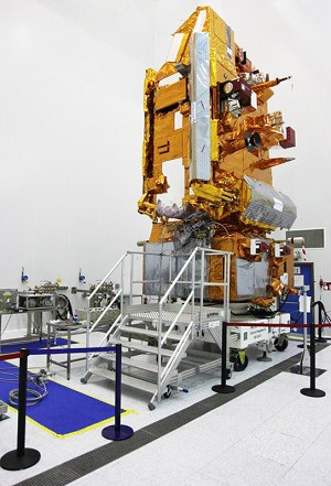Fueling to begin with MetOp-B weather satellite for Starsem's next Soyuz mission