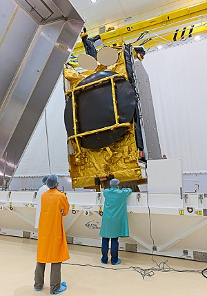 Payload preparations are in full swing for upcoming Ariane 5 mission in September