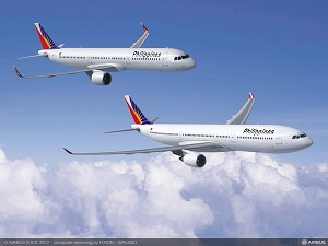 Philippine Airlines Places Major Order for Airbus Aircraft