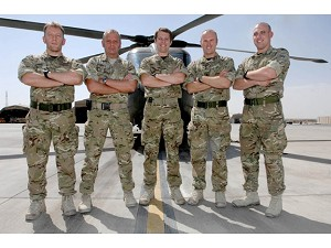Royal Navy team keep helicopters going in Afghanistan