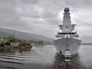 Final Type 45 Destroyer Sets Off on Maiden Voyage