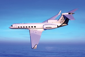 Gulfstream G550 Receives Type Certificate from South African Civil Aviation Authority