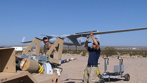 New expeditionary UAV takes off from China Lake, sans runway