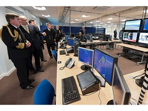 Royal Navy unveils carrier training facility