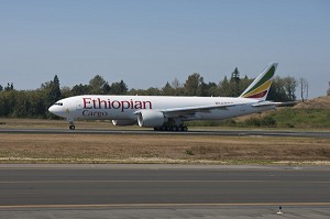 Boeing Delivers Africa's 1st 777 Freighter to Ethiopian Airlines