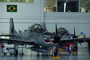 Embraer Highlights Super Tucano Capabilities at Air Force Association Convention