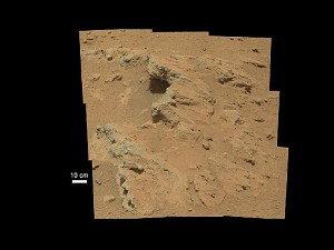 NASA Rover Finds Old Streambed On Martian Surface