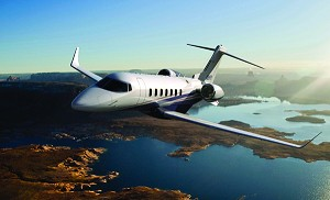 Flexjet and Bombardier Unveil New Learjet 85 Aircraft Mock-Up in New York