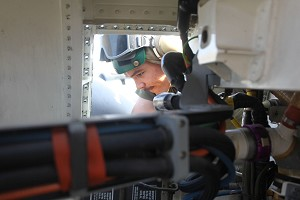 Aircraft maintenance aboard amphibious shipping keeps US Marines mission ready