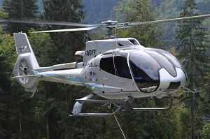 Eurocopter Showcases the Newly Upgraded EC130 T2's