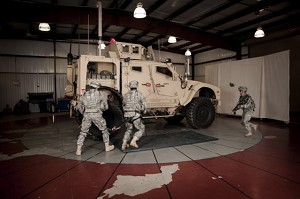 Army conducts safety testing on networked vehicles