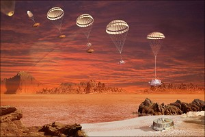 Bounce, Skid, Wobble - How Huygens Landed on Titan