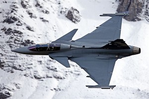 Gripen E/F Test Aircraft Debutes in Switzerland