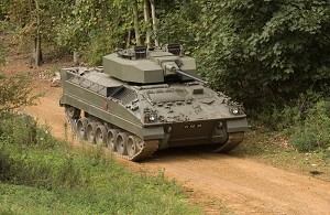 Lorica selected as preferred supplier for Turret Armour to Warrior CSP