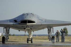 NGC, US Navy Demo Precision, Wireless Ground Handling of X-47B UAS