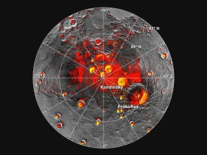 NASA Spacecraft Finds New Evidence for Water Ice on Mercury