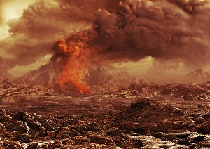 Have Venusian volcanoes been caught in the act?