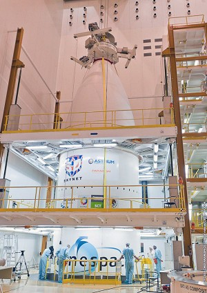 Payload integration is completed for Arianespace's year-ending mission
