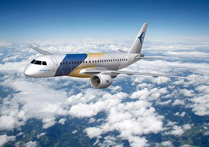 Embraer Selects P&W's PurePower Engines for 2nd Generation of E-Jets