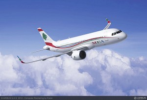 Middle East Airlines Firms Up Order for 10 A320neo Family Aircraft
