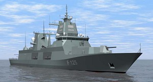 GE to Provide MTU with LM2500 Gas Turbine for German Navy's 4th F125 Frigate