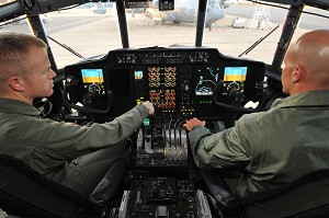 NAVAIR Teams Give Coast Guard HC-130H an Avionics Facelift