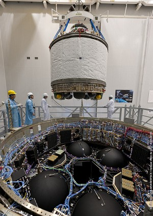Payload preparations continue apace for 1st 2 Ariane 5 flights of 2013