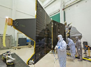 LM Completes Assembly, Begins Environmental Testing of NASA's MAVEN Spacecraft