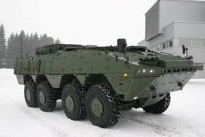 Patria Delivered 1st Batch of NextGen Armoured Wheeled Vehicles to Sweden