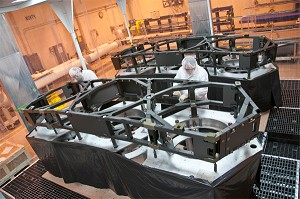 NGC, ATK Complete Primary Mirror Backplane Support Wing Assemblies for NASA's JWST