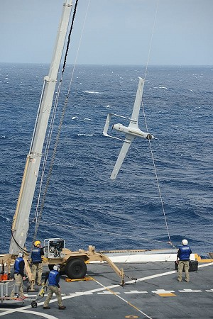 Unmanned Air System Takes First Flight at Sea