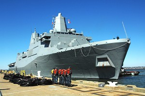 Navy to Commission Newest Amphib Warship Arlington