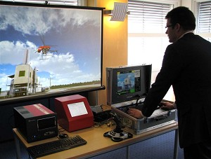 RescueSim shows new HLA capability in joint UAV training simulation