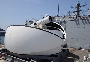 Navy Leaders Announce Plans for Deploying Cost-Saving Laser Technology