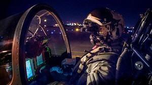 Typhoon test pilots begin Night Vision Goggles trials