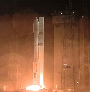 Vega marks a series of ''firsts'' on its initial mission under Arianespace's operational responsibility