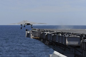 NGC, US Navy Catapult X-47B From Carrier Into History Books
